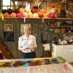 Tylar Merrill in her workshop
