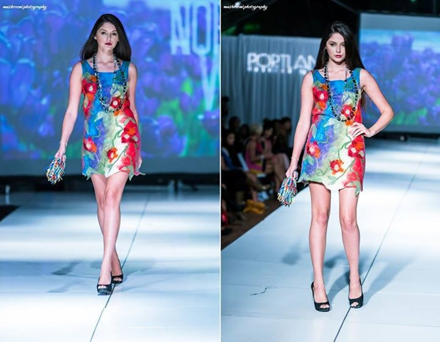 Nuno felt dress